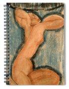 Caryatid Spiral Notebook