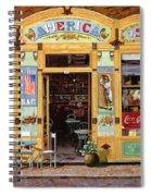 Casa America Spiral Notebook