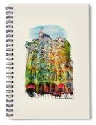 Casa Batllo Barcelona Spiral Notebook