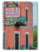 Casa Del Rio In Roma Texas Spiral Notebook