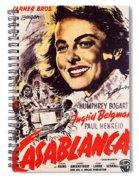 Casablanca B Spiral Notebook