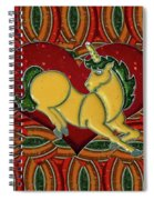 Casablanca Unicorn Dreams Spiral Notebook