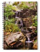 Cascades N Pool Spiral Notebook