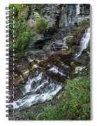Cascadilla Falls Creek Gorge Trail Giant's Staircase Spiral Notebook