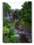 Cascadilla Gorge Cornell University Ithaca New York 01 Spiral Notebook