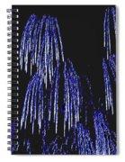 Cascading Fireworks Spiral Notebook