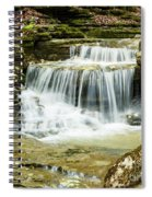Cascading Into The Pool Spiral Notebook