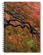Cascading Japanese Maple Spiral Notebook