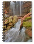 Cascading Waterfall Spiral Notebook