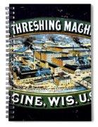 Case Threshing Machine Co Spiral Notebook
