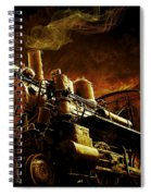 Casey Jones And The Cannonball Express Spiral Notebook