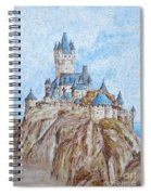 Castle On The River Rhine Spiral Notebook
