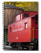 Cass Railroad Caboose Spiral Notebook