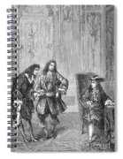Cassini Presented To Louis Xiv, 1669 Spiral Notebook