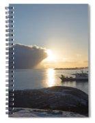 Cast A Giant Shadow... Reine Lofoten Spiral Notebook