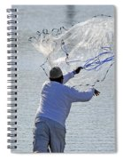 Cast Net Spiral Notebook