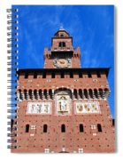 Castello Sforzesco Tower Spiral Notebook