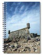 Castelo Do Queijo Old Fort Landmark In Porto Portugal Spiral Notebook