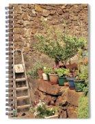 Castelo Rodrigo Garden Spiral Notebook