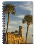 Castillo De San Marcos Dawn II Spiral Notebook