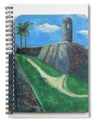 Castillo De San Marcos Spiral Notebook