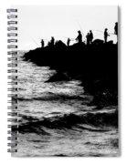 Casting Shadows Spiral Notebook