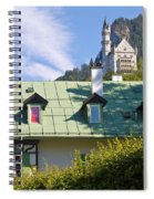 Castle 3 Spiral Notebook