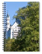 Castle 4 Spiral Notebook