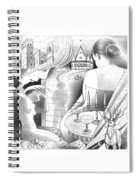 Castle And Memores Spiral Notebook
