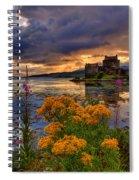 Castle Bliss Spiral Notebook