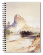 Castle Butte, Green River, Wyoming Spiral Notebook