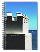Castle By The Sea Spiral Notebook