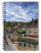 Castle Combe England Spiral Notebook