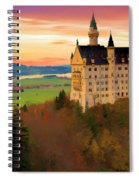 Castle Dawn Spiral Notebook