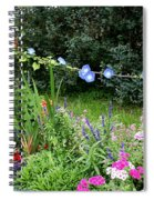 Castle Garden In Germany Spiral Notebook