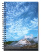 Castle Geyser Yellowstone Np Photo Painting_grk7577_05262018 Spiral Notebook