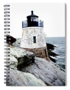 Castle Hill Light Spiral Notebook