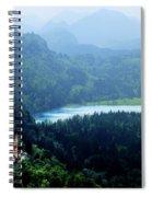 Castle Hohenschwangau 2 Spiral Notebook