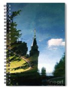 Castle In The Lake Spiral Notebook