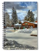 Castle Mountain Chalets Panorama Spiral Notebook