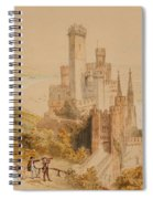 Castle On The Rhine Spiral Notebook