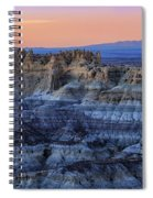 Castle Rock Sunset Spiral Notebook