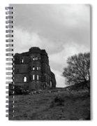 Castle Ruin Spiral Notebook
