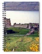 Castle Ruins Scotland Spiral Notebook