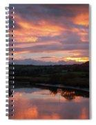 Castlemaine December Dawn Spiral Notebook