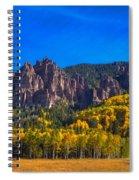 Castles Spiral Notebook