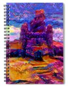 Castles In The Sand Cs-1a Spiral Notebook