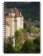 Castles Of Curemonte Spiral Notebook