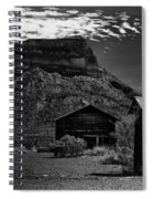 Castolon Ghost Town Spiral Notebook