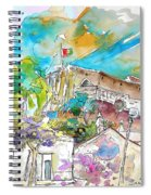 Castro Marim Portugal 10 Spiral Notebook